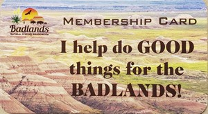 Badlands Natural History Association Memberships
