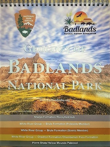 Geology of Badlands National Park Flip Chart