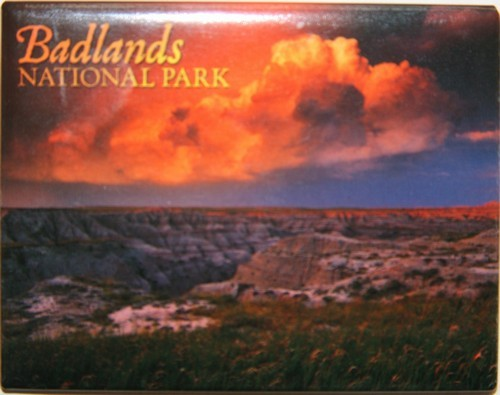 Badlands Thunderstorm Magnet