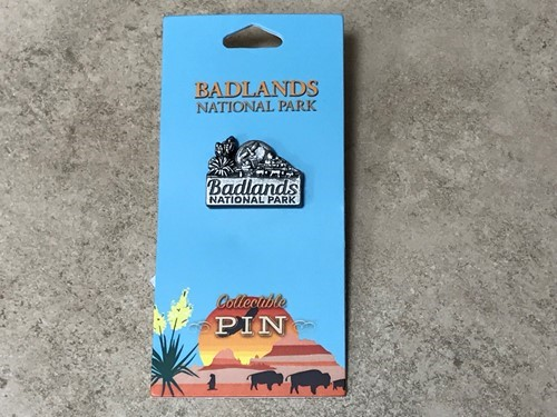 Badlands Logo Pin