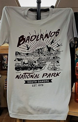 Badlands Butte Parks Project T shirt